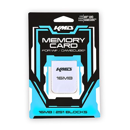 KMD 16 MB 251 Bocks Memory Card For Nintendo Wii And GameCube System - image 1 de 1