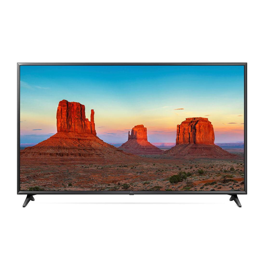 """Refurbished LG 49"""" Class 4K (2160) HDR Smart LED UHD TV w/AI ThinQ - 49UK6300PUE"""