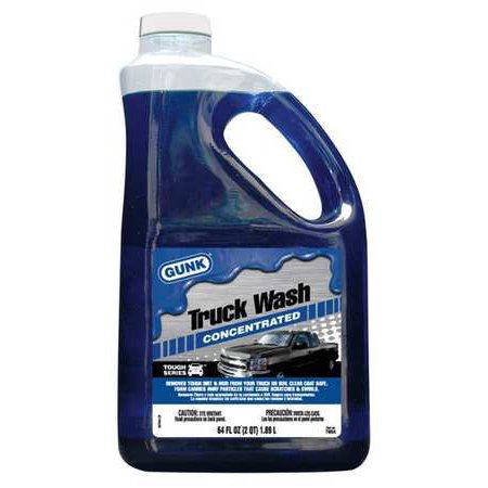 GUNK TW64 Car/Truck Wash,64 oz.,Plastic Bottle (Truck Wash)