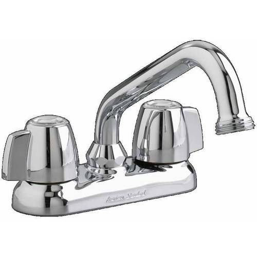 American Standard 7573.140.002 Laundry Faucet with Hose End and Metal Lever Handles, Chrome
