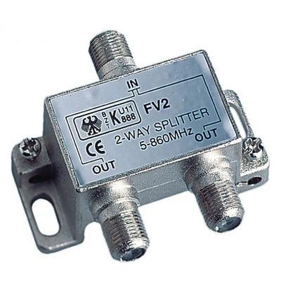Glomex 2-Way Splitter Tv - Tv Or Tv - Fm Glomex 2-Way Splitter Tv - Tv Or Tv - FmGlomex 2 Way Splitter Tv - Tv Or Tv - Fm2-Way Splitter TV - TV or TV - FM2-Way Splitter fit TV, TV or TV, FM . Manufacturer Part Number: V9147