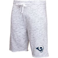Los Angeles Rams Concepts Sport Alley Space Dye Jam Shorts - Heathered Gray