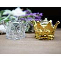 (12 Pack) Fillable Crowns Quinceanera Princess Wedding Favors Recuerdos Corona Sweet 16