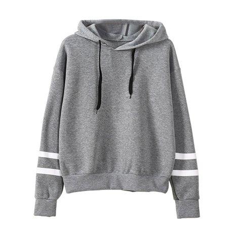 d94d81188515 Womail - Womail® Womens Long Sleeve Hoodie Sweatshirt Jumper Hooded ...