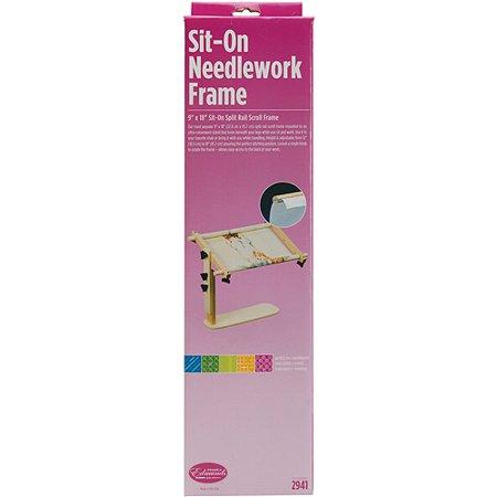 Edmunds Sit On Needlework Quilt Frame Multi Colored