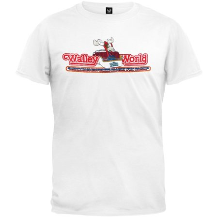National Lampoon Vacation   Walley World Roller Coaster Soft T Shirt