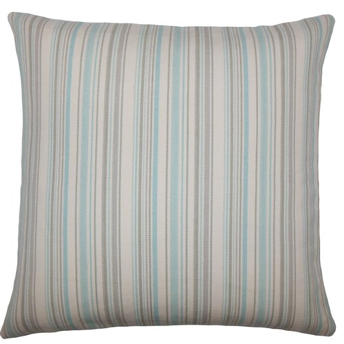 The Pillow Collection Velika Striped Bedding Sham