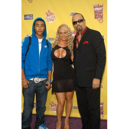 Coco Ice - Tracy Marrow Jr Nicole Coco Austin Ice-T At Arrivals For Flava Flav Roast By Comedy Central The Warner Brothers Lot Los Angeles Ca July 22 2007 Photo By Tony GonzalezEverett Collection Celebrity