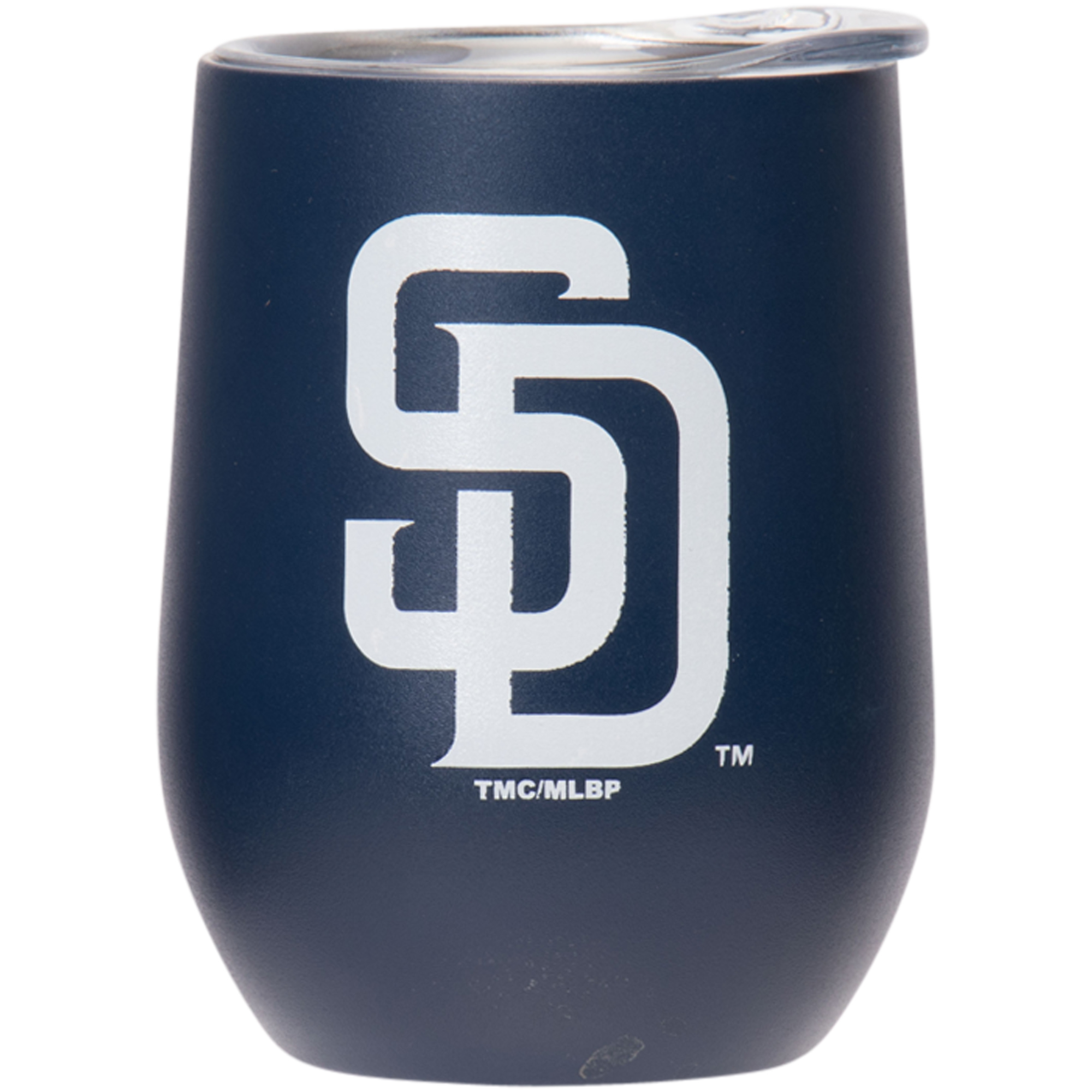 San Diego Padres 15oz. Matte Stainless Steel Stemless Tumbler - No Size