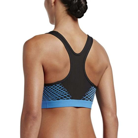 500b1615f0 Nike - Nike Women s Pro Hyper Classic Padded Sports Bra - Walmart.com