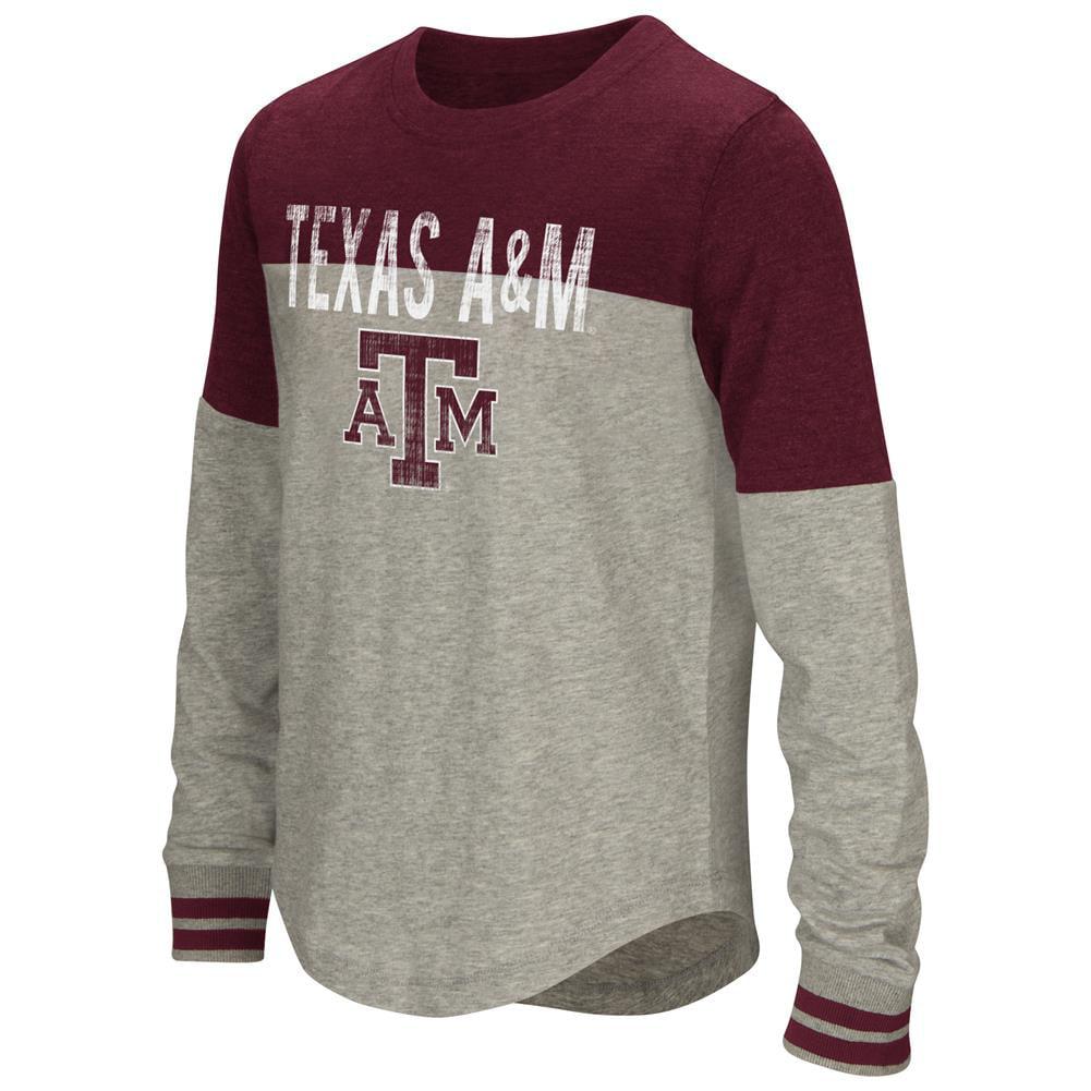 Youth Girls' Baton Texas A&M Aggies Long Sleeve Shirt