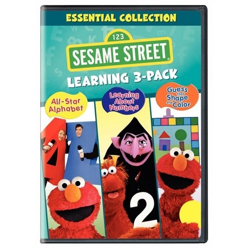 Sesame Street: All-Star Alphabet / Learning About Numbers / Guess That Shape And Color (Full Frame)