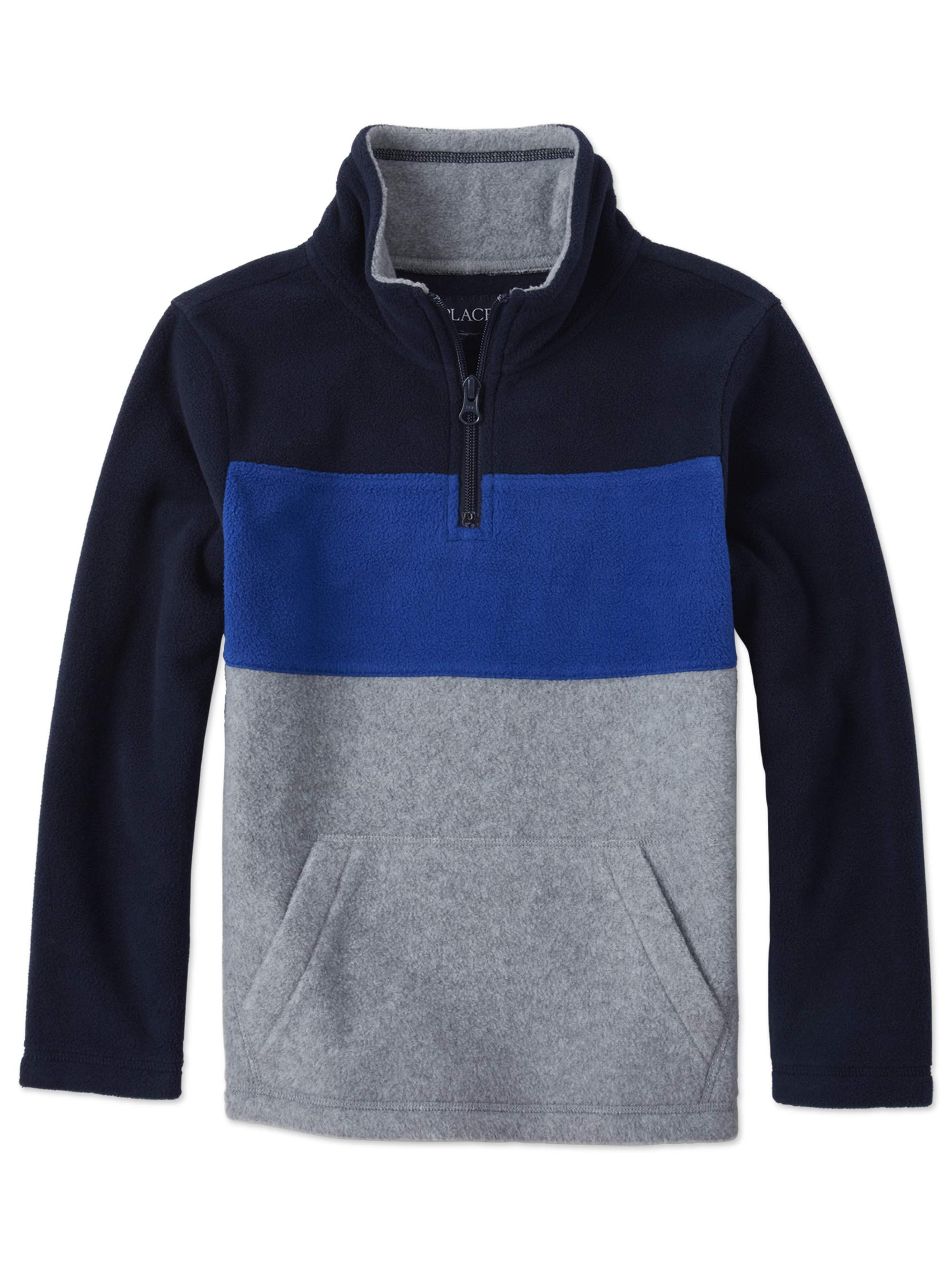 The Childrens Place Boys Big Sherpa Hoodie