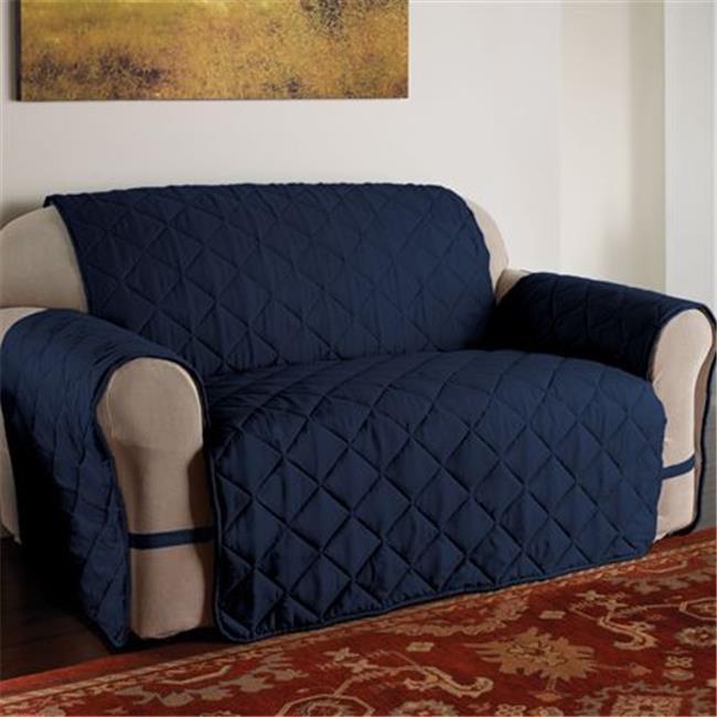 Innovative Textile Solutions MFSOSOFAF Microfiber Ultimate Sofa Protector - Navy