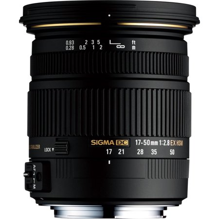Sigma 17-50mm f/2.8 EX DC OS HSM Zoom Lens for