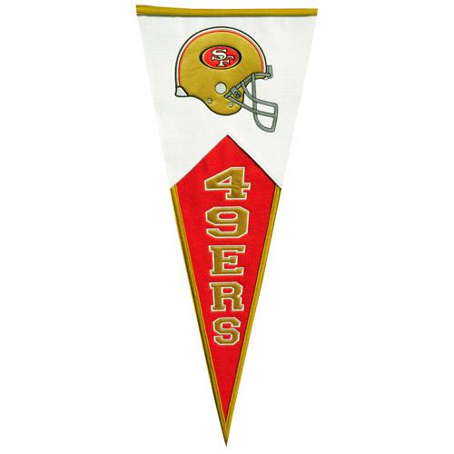 Winning Streak San Francisco 49ers Classic Pennant