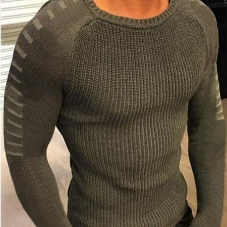 am besten bewertet neuesten große Vielfalt Modelle Schuhwerk Men's Casual Slim Fit Pullover Sweaters, Long Sleeve Lightweight Thin  Fabric Various Color