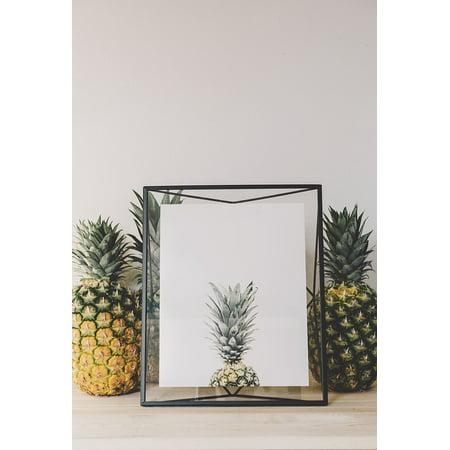 Canvas Print Fruit Juice Appetizer Dessert Pineapple Stretched Canvas 10 x 14 - Fruit Appetizers