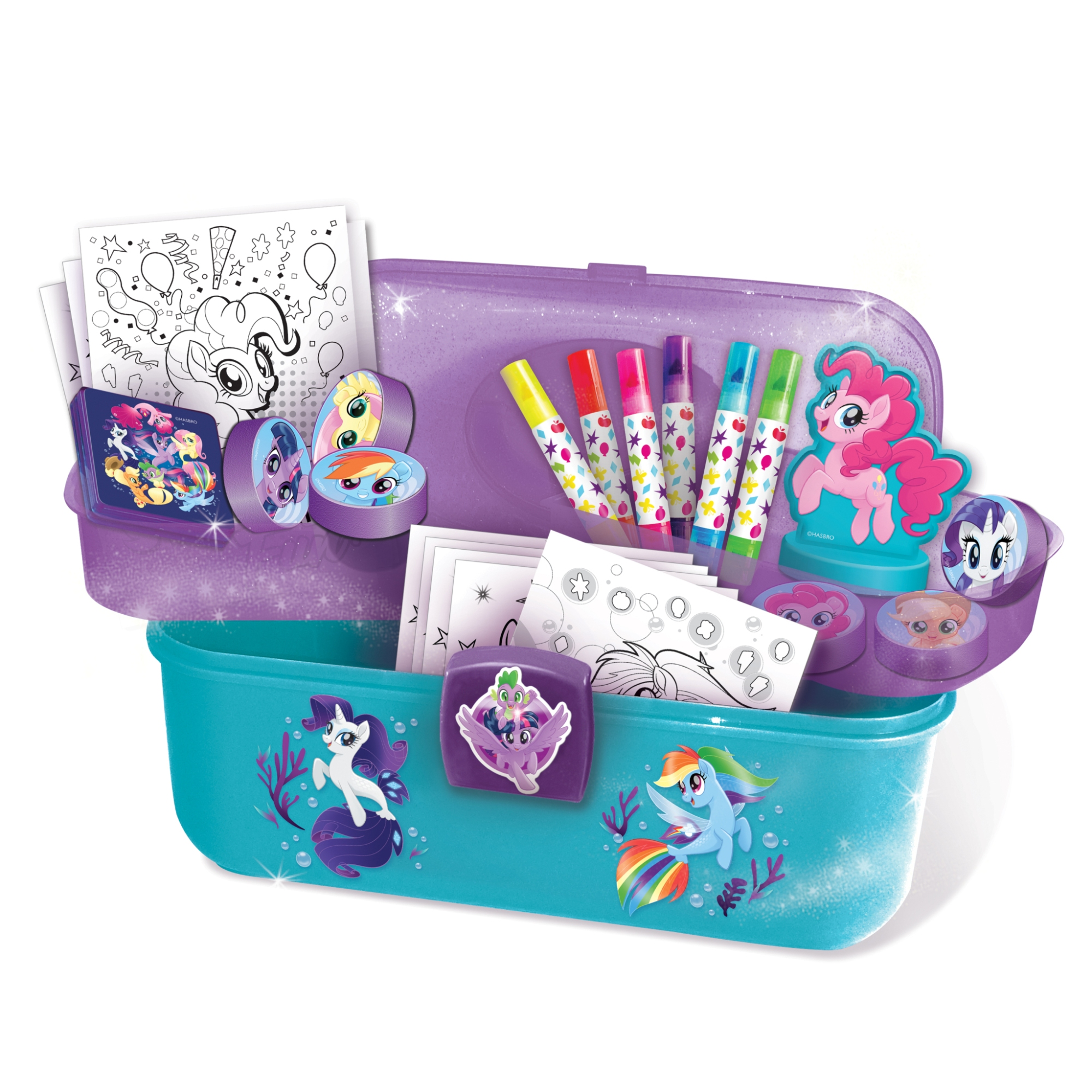 Canal Toys My Little Pony Stamp Art Studio Set by Canal Toys