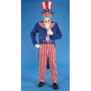 COSTUME-ADULT UNCLE SAM - Sam Adams Costume