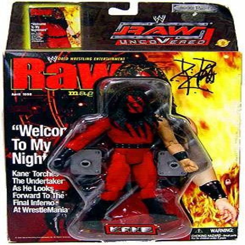 KANE - WWE Wrestling Raw Uncovered Figure by Jakks
