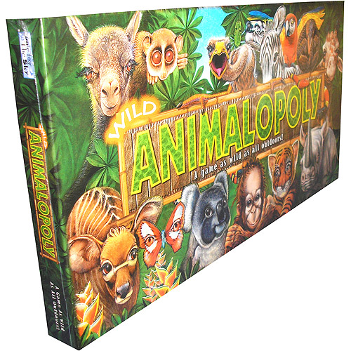 Wild Animalopoly Board Game