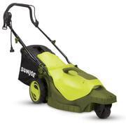 Sun Joe MJ404E-360 Electric Lawn Mower | 3-Wheels | 16 Inch | 12 Amp | 360 Degrees Turn Radius