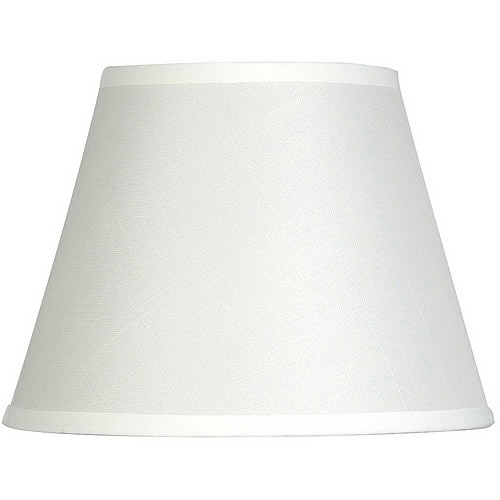 """Mainstays 10"""" Textured Accent Lamp Shade, Off White"""