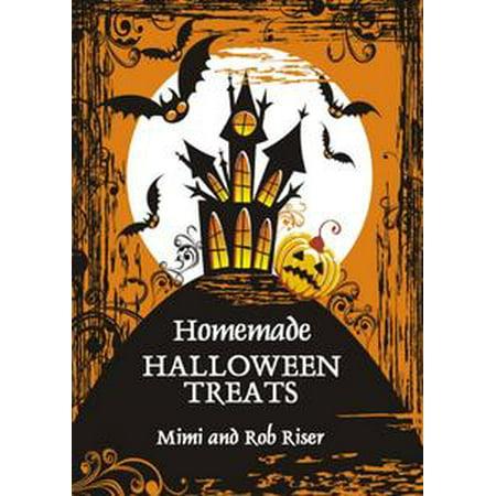 Homemade Halloween Treats - eBook - Halloween Ideas Homemade