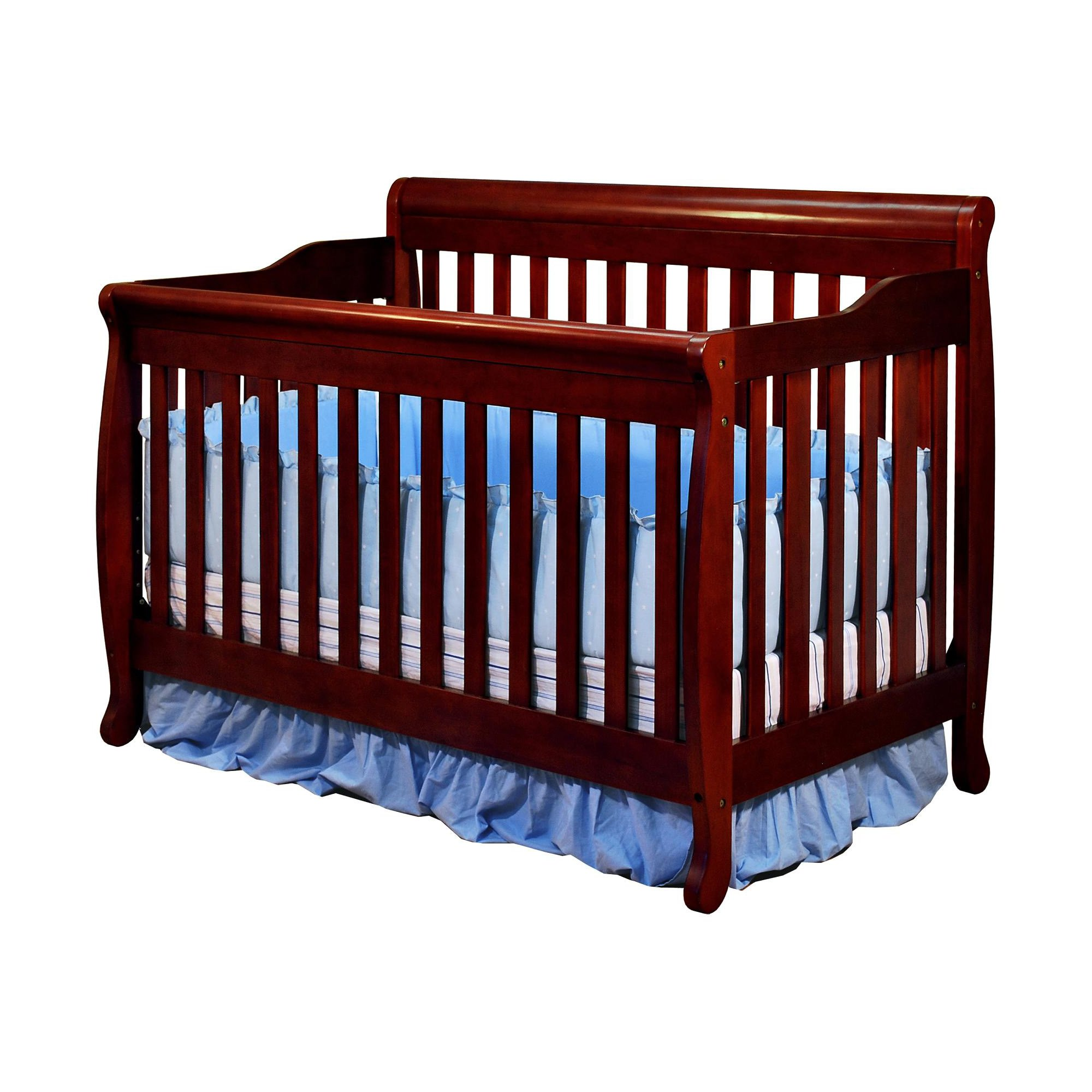 Athena Alice 3 in 1 Convertible Crib - Cherry