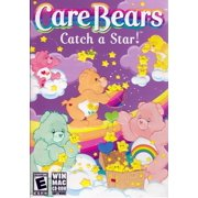 Care Bears Catch a Star Classic CareBears CDRom - Play 8 fantastically fun action games each with 5 cheerful levels