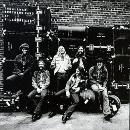 Allman Brothers Live at Fillmore East (CD)