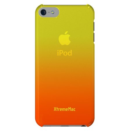 XtremeMac Microshield Fade Case for iPhone 5/5s/SE - Yellow/Tangerine - image 2 de 3