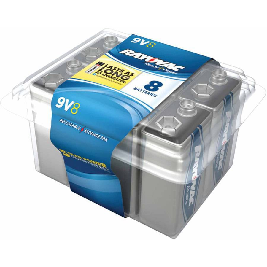 Rayovac A1604-8PPF Alkaline Batteries Reclosable Pro Pack, 8pk