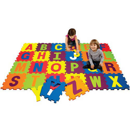 4' v 4' Activity Play Mat, Alphabet