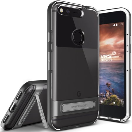 separation shoes 7275a 07b6a Google Pixel Case, VRS Design [Crystal Bumper] Clear Slim Fit Protective  Transparent Cover