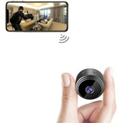 Mini Camera WiFi Wireless Video Camera 1080P HD Small Home Security Surveillance Cameras,Portable Tiny Nanny Cam with Night Vision Motion Detection for Car Indoor A9