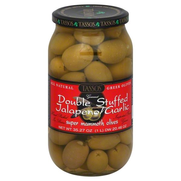 Tassos Tassos  Olives, 35.27 oz