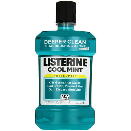 Listerine Freshburst Mouthwash is a recipient of the ADA Seal of Acceptance for fighting plaque and gingivitis. The great-tasting Freshburst spearmint flavor of this antiseptic mouthwash leaves your mouth feeling clean and fresh.