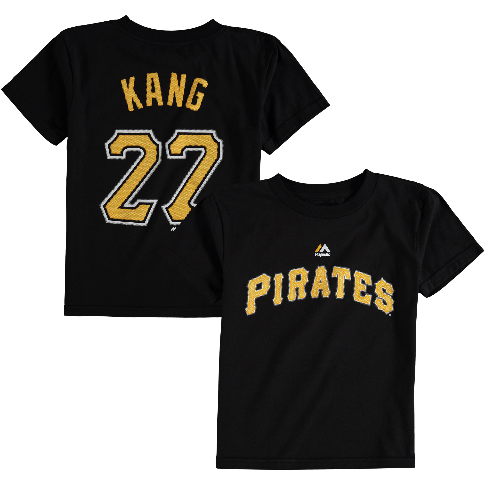 Jung Ho Kang Pittsburgh Pirates Majestic Preschool Player Name and Number T-Shirt - Black