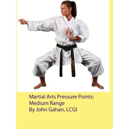 Martial Arts Pressure Points: Medium Range - (Martial Arts Pressure Points Of The Body)