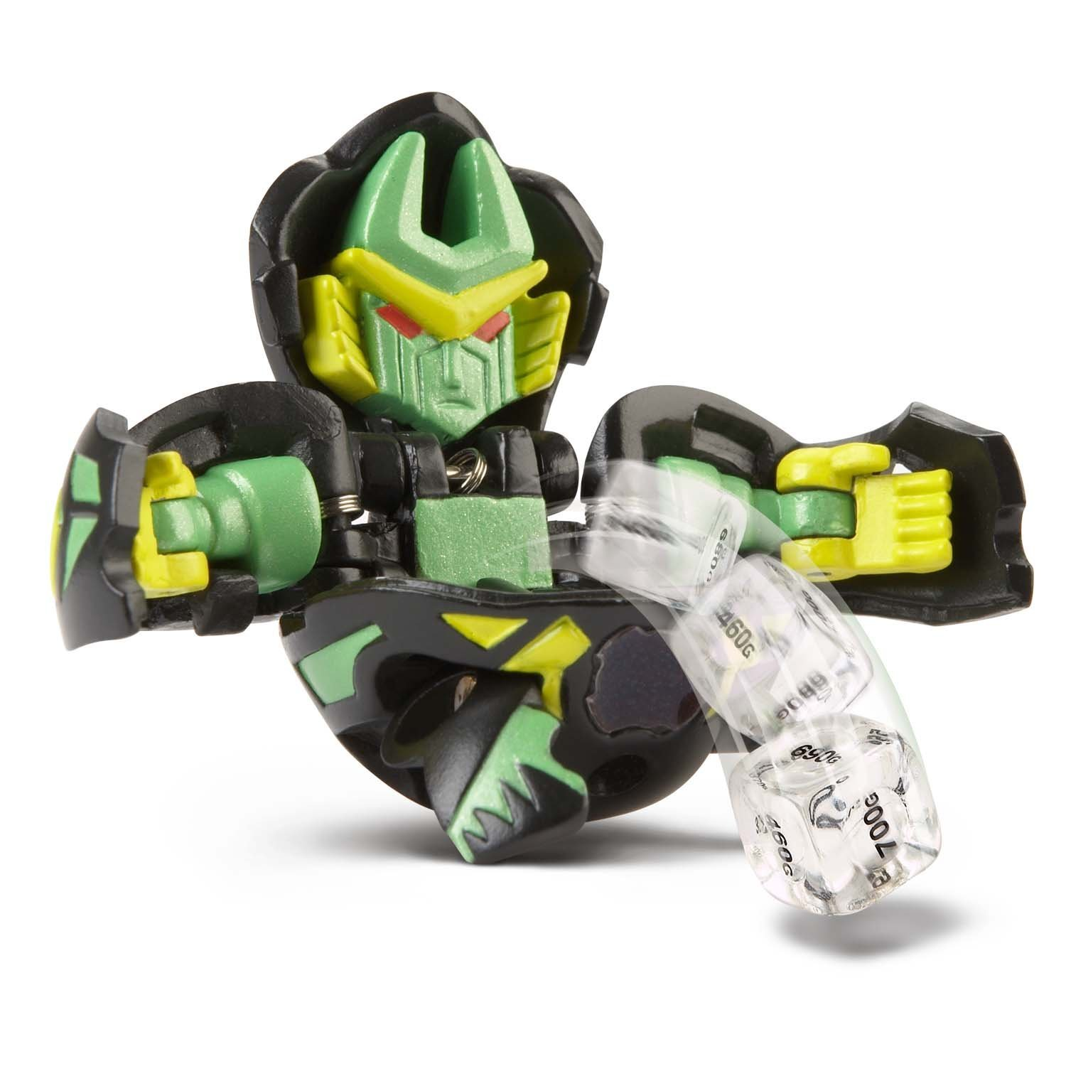 Bakugan Super Assault Bakuchance (Colors Vary Between Green, Red, Gray, Brown and Black), Take your battle brawling to the next level with Bakugan.., By Spin Master