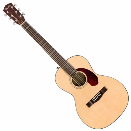 Fender Model CP-140SE Natural Acoustic Electric Parlor Size Guitar w/ Hard