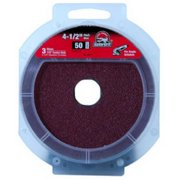 Ali Industries 3072 4.5 x .88 in. 50 Grit Aluminum Oxide Fiber Disc, 3 Pack