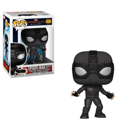 Funko POP! Marvel: Spider-Man FFH - Spider-Man (Stealth Suit) (Amazing Spiderman Suit)