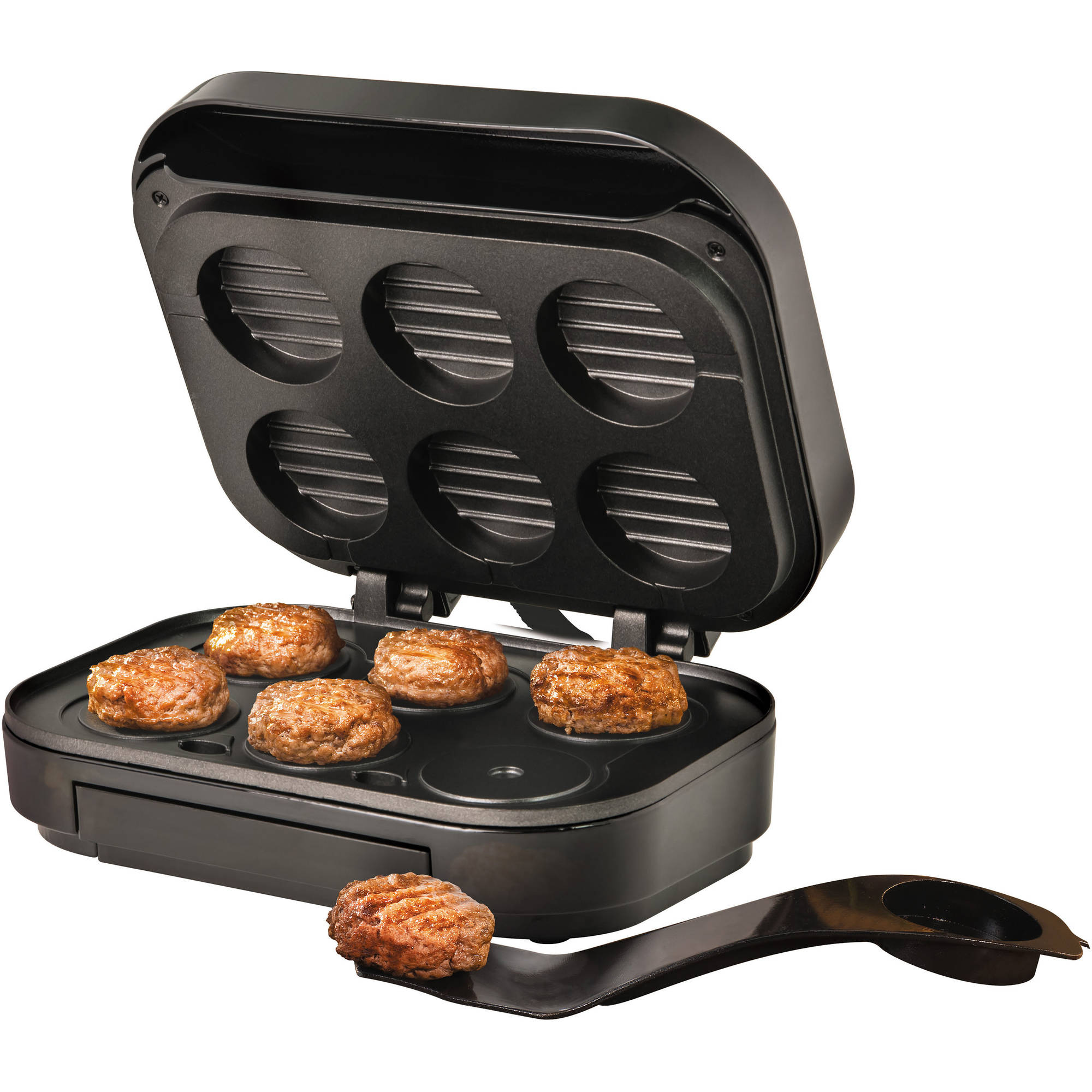 Nostalgia SLM60BK Electric Slider Maker, Black