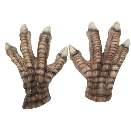 Adult T-Rex Claws Dinosaur Costume Gloves