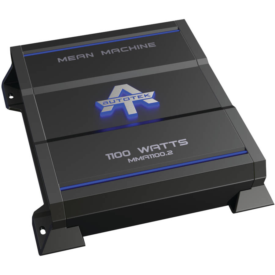 Autotek MMA1100.2 The Mean Machine 2-Channel Class AB Amp, 1,100 Watts