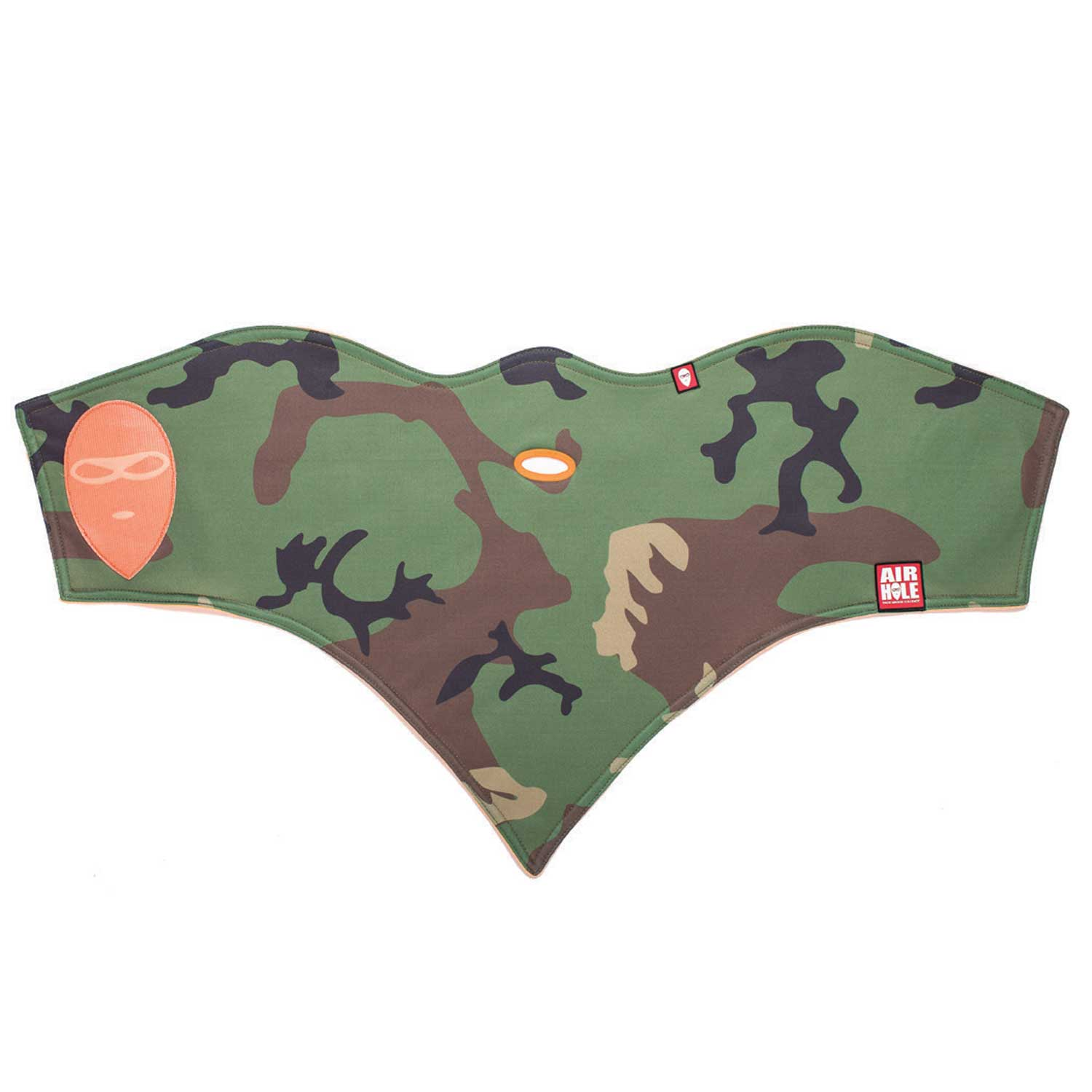 Airhole Standard 1 (Woodland) Face Mask by