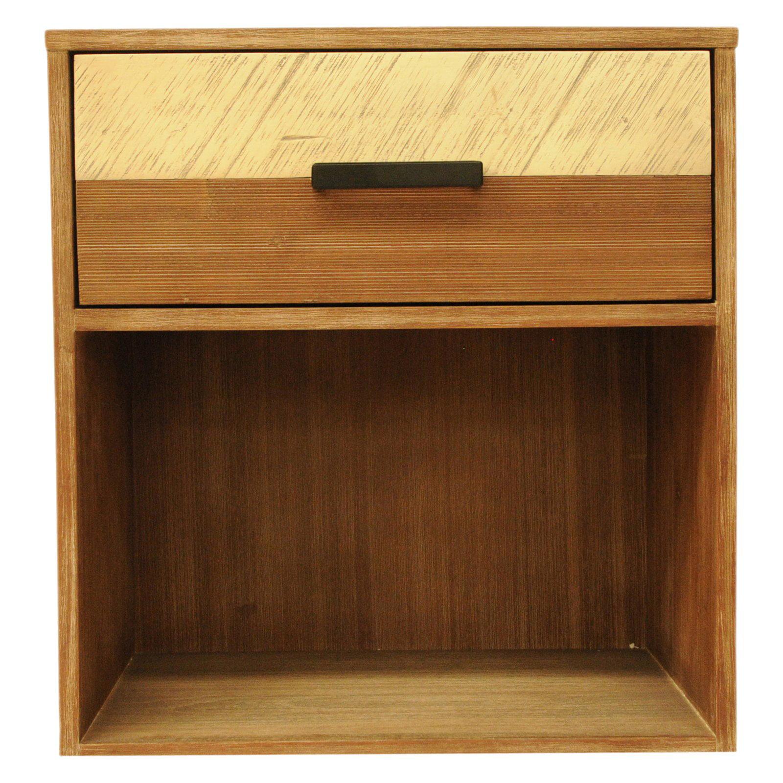 CDI International Furniture 1 Drawer Medley Nightstand
